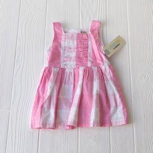 Pink Plaid Dress